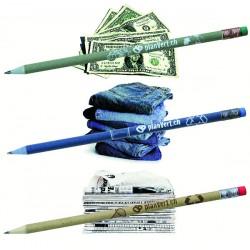 Set de 3 crayons graphite recyclés avec étui