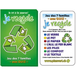 """Je Recycle"" Français"