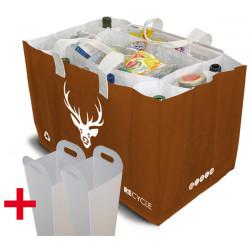 Sakatri® Caramel/Cerf + Ad'Box