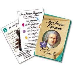 c) Jeu des 7 familles Rousseau